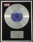 "THE TROGGS  7"" Platinum Disc - WILD THING"